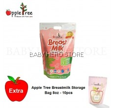 Apple Tree Breastmilk Storage Bag 8oz (100pcs)
