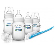 Philips Avent Classic Plus Newborn Starter Set SCD371/00 (6 in 1)