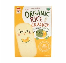Apple Monkey Organic Rice Cracker 30g (Pumpkin)