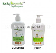 Baby Organix - Kids and Family Top To Toe Cleanser (400ml)